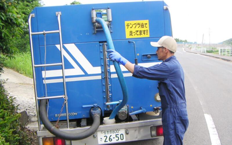 一般廃棄物収集・運搬 (し尿汲取り)